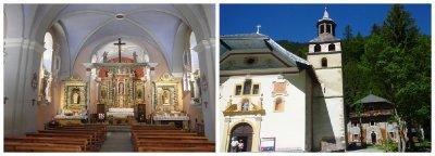 Notre Dame de la Gorge: baroque style