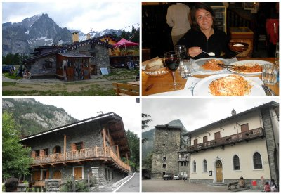 Enjoying life and pasta in Italy: Courmayeur: not a bad place to live.... dream on MJ