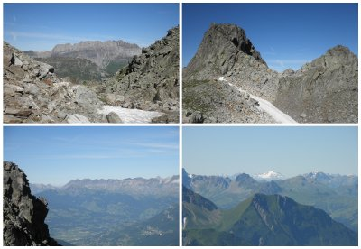 From Col du Brevent to Le Brevent you better are not afraid of height... nice and steep!