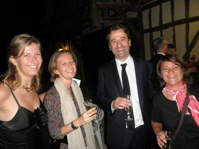 MJ, Milou, Aurélien et Georgia