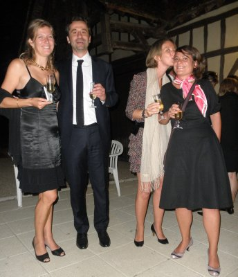 MJ, Aurélien, Milou et Georgia