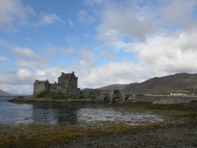 Highland Glens: Castle Eilean Donan, said to be the most beautiful castle of Scotland