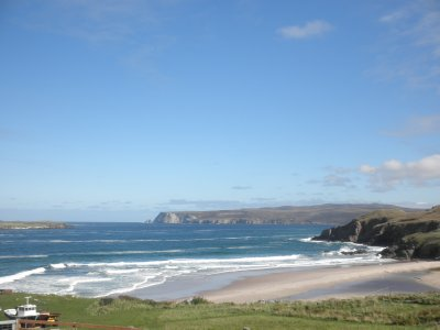 Northern coast of Scotlad, close to Durness