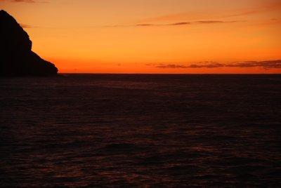 sunset in Cruzinha da Garca