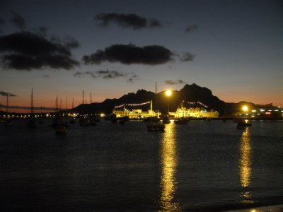 The harbour of Sao Vicente