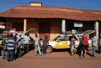 arranging a taxi