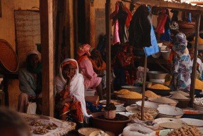 market in Labé