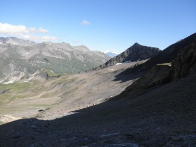 View from the col de Fours