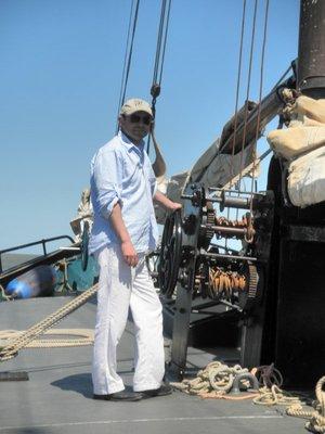Onze Ahmed rechtstreeks ingevlogen vanuit St Tropez...:-)
