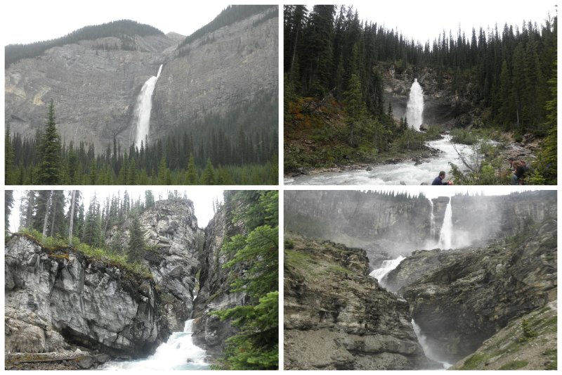 Waterfalls, waterfalls, and waterfalls. all different, but all from the same day: Whaleback and Iceline trail. In Jasper it was hailing the size of tennisballs, so I was very lucky with cjust loudy weather.