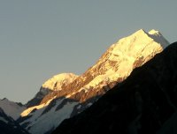 Sunset at Mount Cook