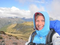Kepler track - with a great view while I was there!!