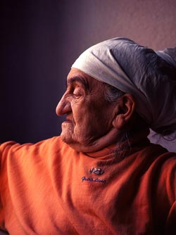 Old Lady from Kosova