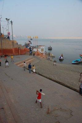 Cricket in Varanasi
