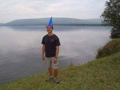 Toby's Birthday at Lake Mburo