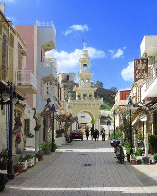 Main street, Paleohora