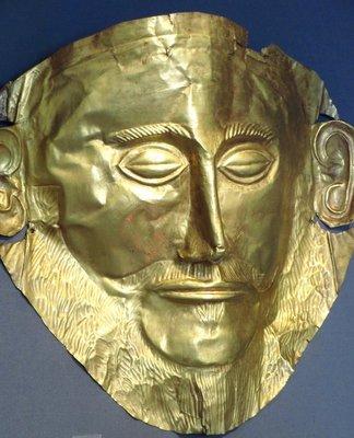 Death mask of Agamemnon