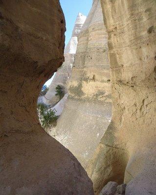 Canyon at Tent Rocks