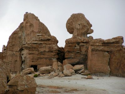 Rock Formations on Jeep Trip