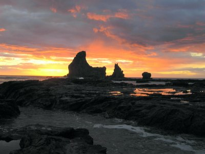 Rocks at Sunset 2