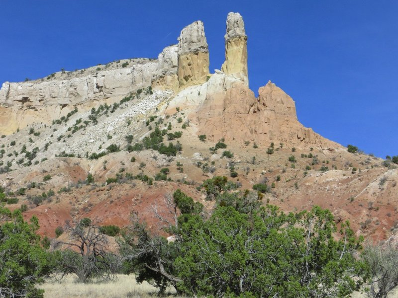 Ghost Ranch rock formations