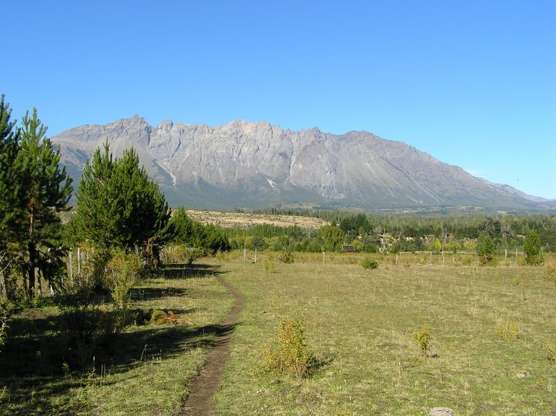 Piliquitron from Other Side of Valley