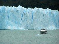 Glacier  Wall and Boat