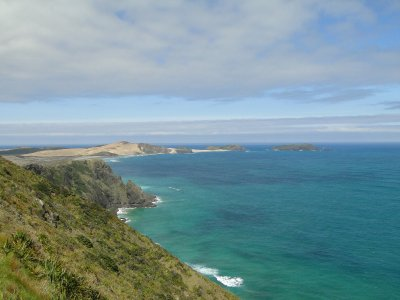 Looking westwards from Cape Reinga