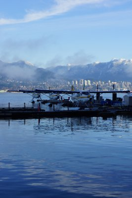 Seaplane at Coal Harbour.