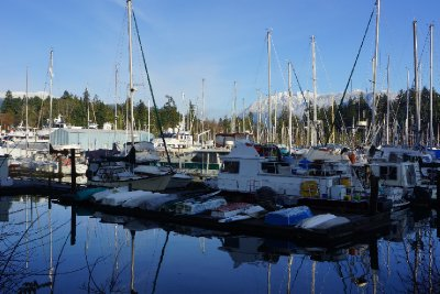 Coal Harbour - The working man's end.