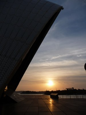 Sunrise at Opera House