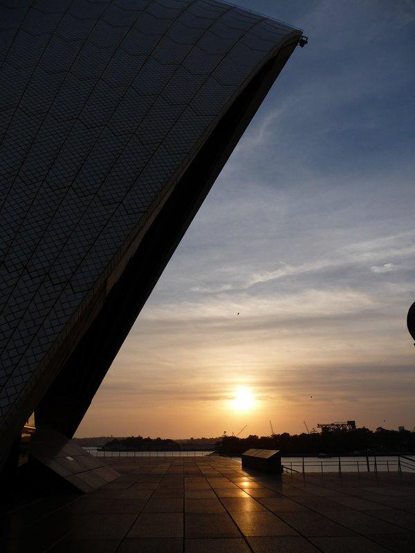 Sunrise at Opera House