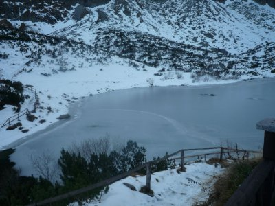Slovakian Lake in the Tatras