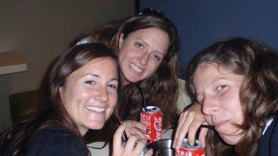 Erin Kat Megan Coca Colas