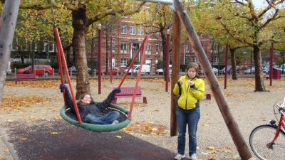 Erin Megan Swing in Amsterdam