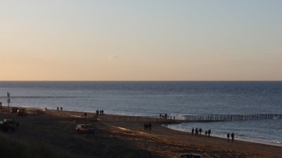 The North Sea!!!