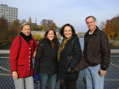 Andrea Erin Val Brad over Fulda River