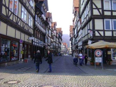 Street in Hannoversch Munden