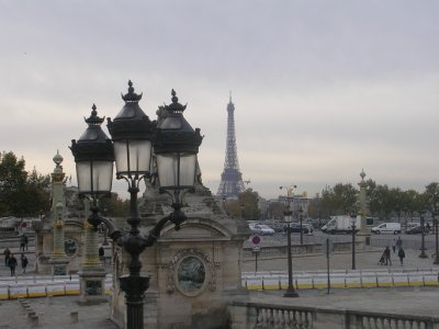 Tower Eiffel from a distance