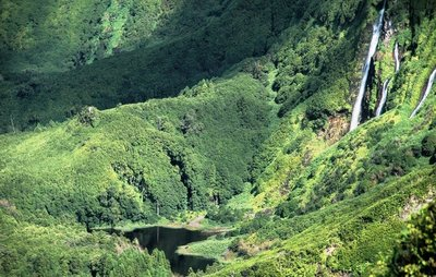 Poço da Alagoinha visto de cima