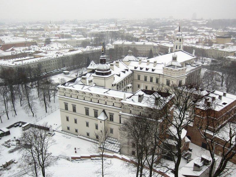 Vilnius from Gediminas