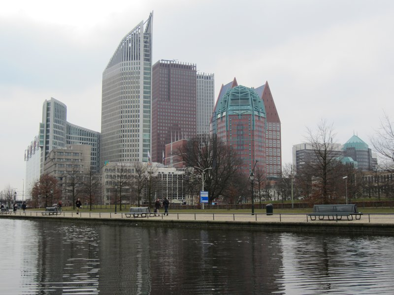 Den Haag's modern city center