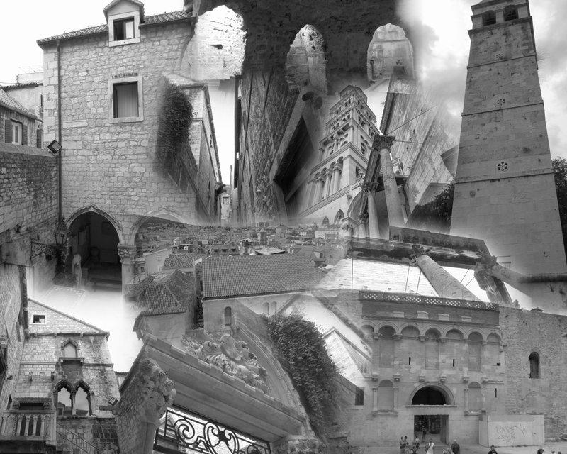Split stange collage