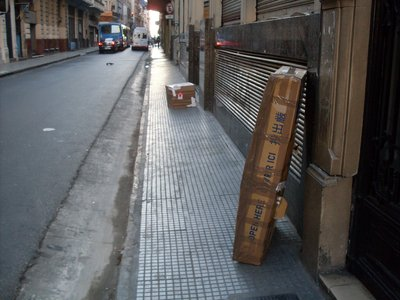 Moving my boxes around Buenos Aires