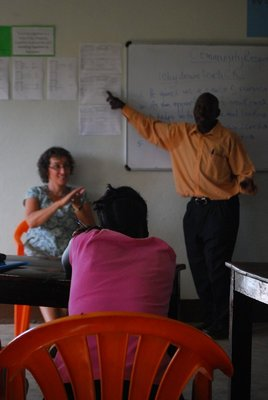 Learning Sign Language from 'Long Nose' the teacher