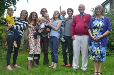 Most of my family together again