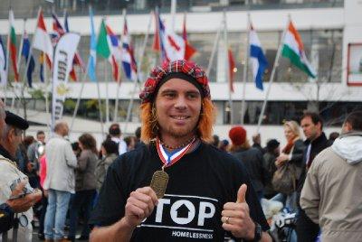marathon runner!