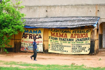 Advert for Traditional Healer... some magic potions brewed here