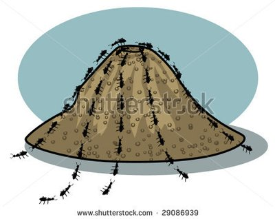 stock-vector-vector-illustration-of-ants-and-an-ant-hill-29086939