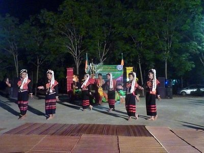 Some of Sai Moon's M5 girls performed a traditional dance